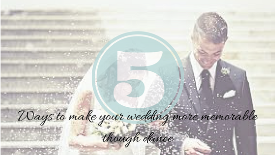 5 ways to include dance in your wedding. Dancesport Academy Ardmore PA