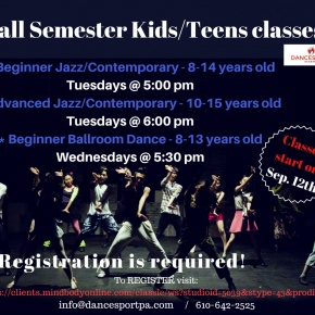 Kids dance classes on the Main Line