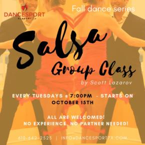 Salsa group class